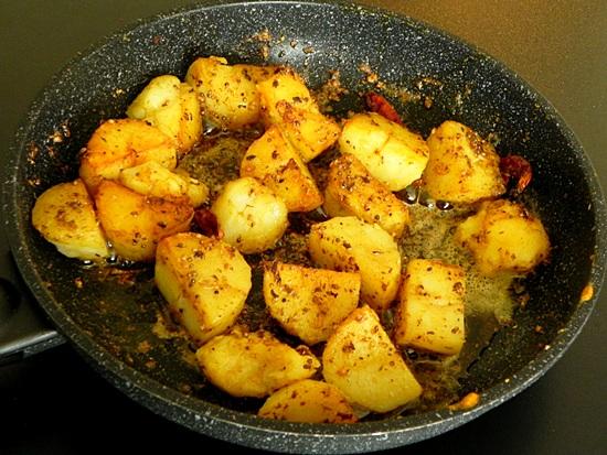 Как варить картошку для жарки