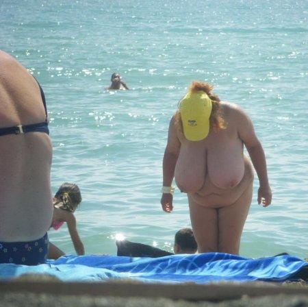Толстых нудистов фото