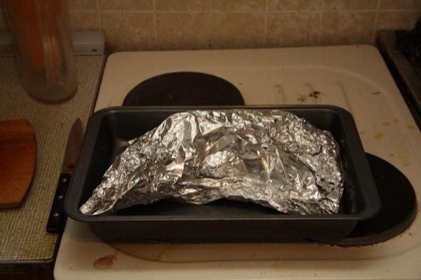 Запечь стерлядь в фольге в духовке с фото