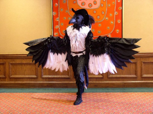 Сделать костюм вороны своими руками фото