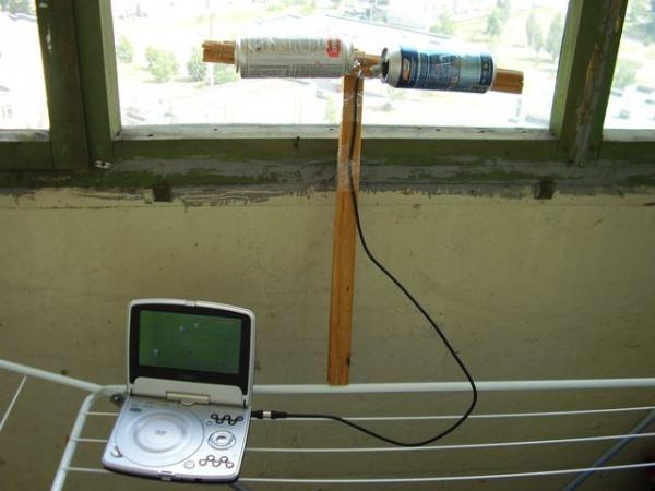 Как сделать т.в. антенну