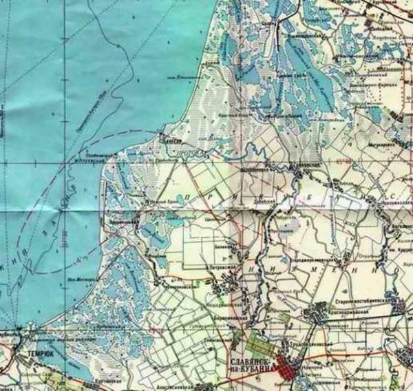 карта краснодарского края рыболов
