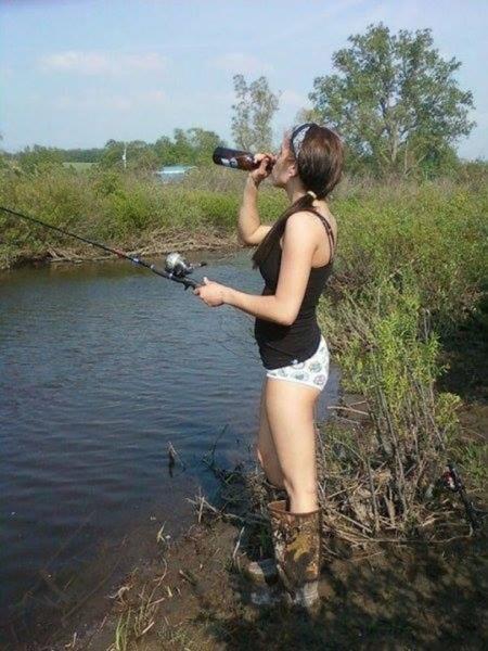 истории о рыбалке и девушках