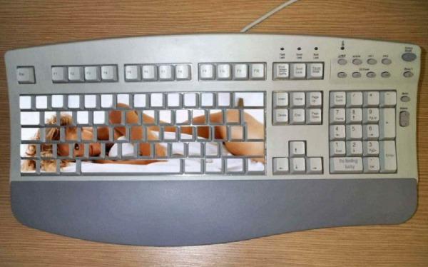 Смешная клавиатура в картинках