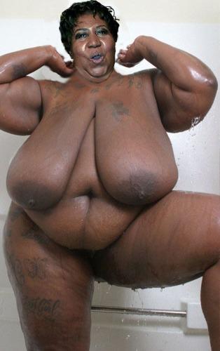 Голые очень толстые негритянки