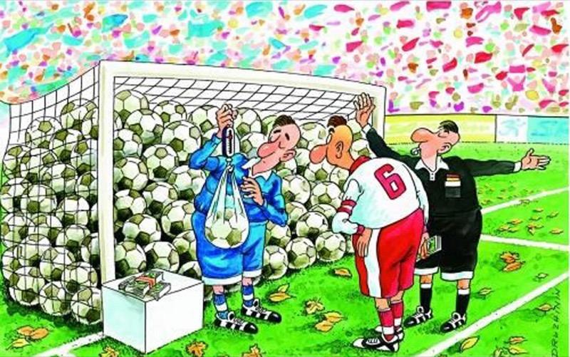 Футбол рисунки прикольные